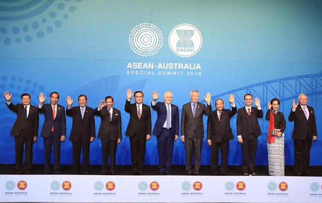 17日、オーストラリアのシドニーにて、ベトナムのグエン・スアン・フック首相はASEAN・オーストラリア特別首脳会議に出席した。撮影:トン・ニャットーベトナム通信社