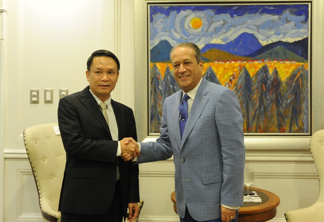 Member of the Communist Party of Vietnam (CPV) Central Committee and Vietnam News Agency Director General Nguyen Duc Loi paid an official visit to the Dominican Republic  from July 11-14. Photo: VNA