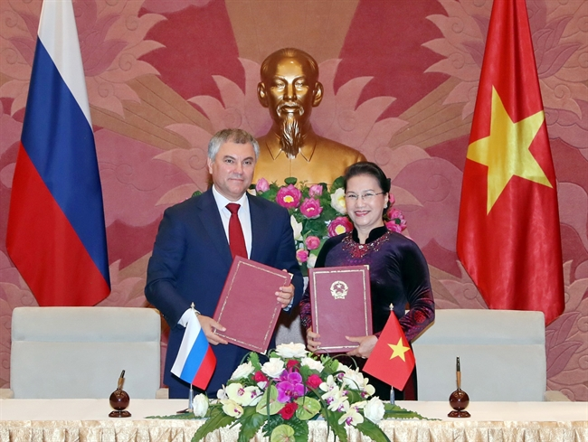 Вьетнам и Россия выходят на новый уровень парламентского сотрудничества