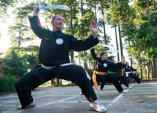 A Frech masters love for Vietnamese martial arts