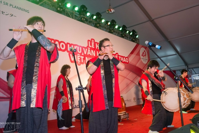 Festival features Vietnamese and Japanese cultures