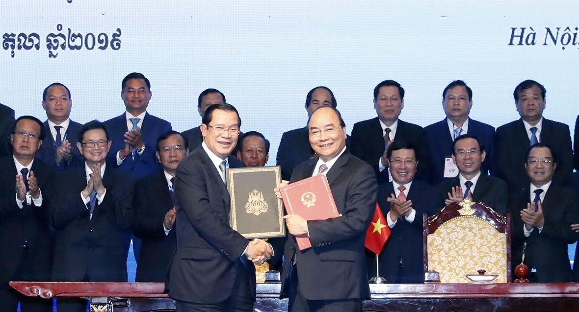 和平解决越柬边界问题的新进展