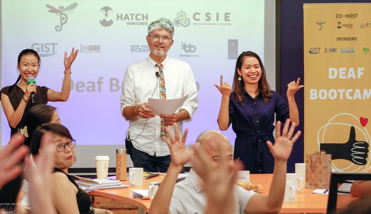 An enthusiastic sponsor of Vietnamese startups