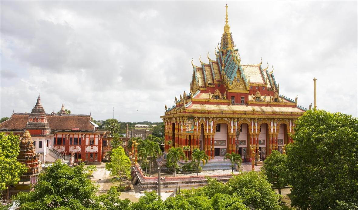 La pagode khmère de Ghositaram