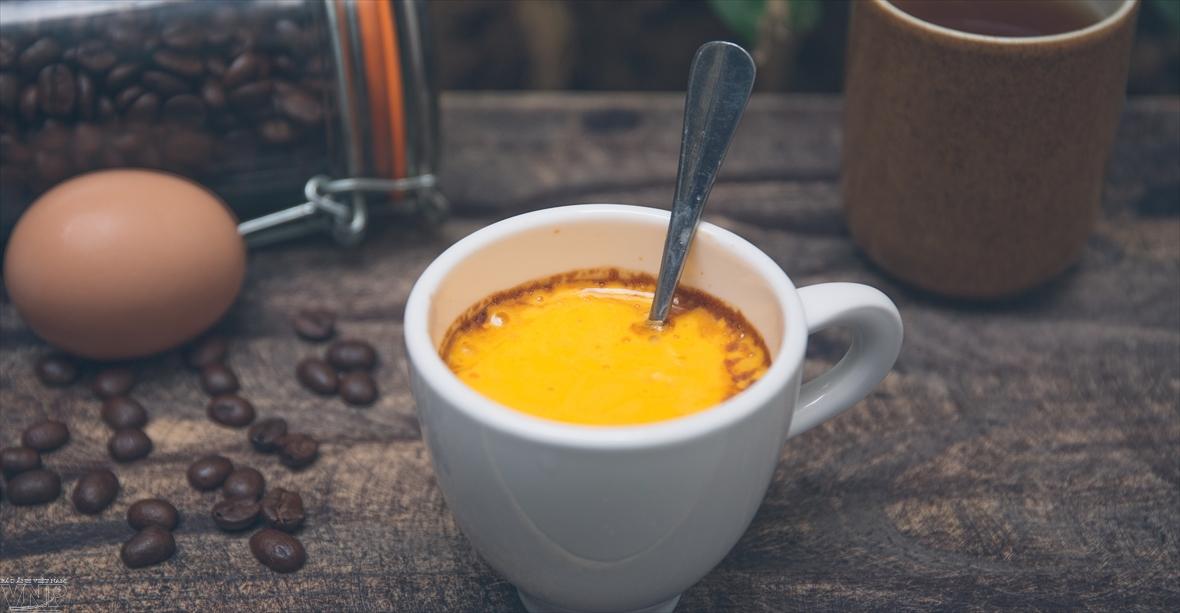 Café à lœuf une boisson originale de Hanoi