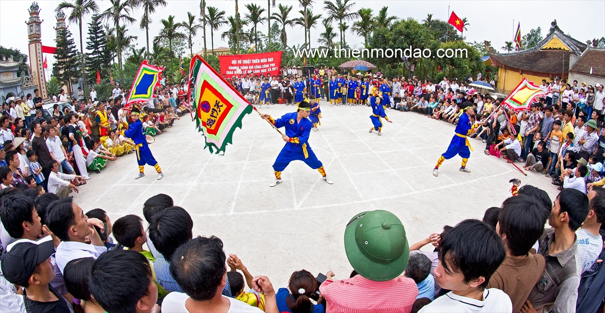Thien Mon Dao honors Vietnams martial arts