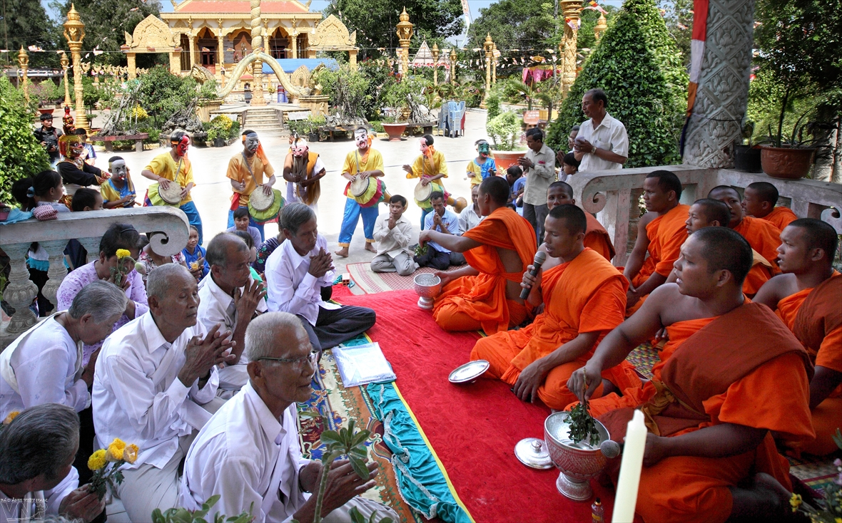 Theravada Buddhism the heart of Khmer culture