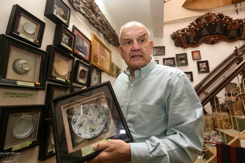 マーク・ラポポート氏の集めたベトナム古物とベトナム民族文化