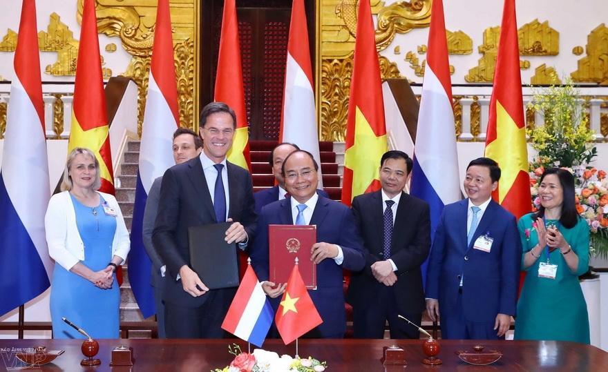 适应气候变化:越南与荷兰关系的重要支柱