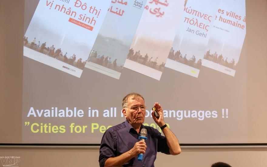 Danish professor inspires people-centered cities