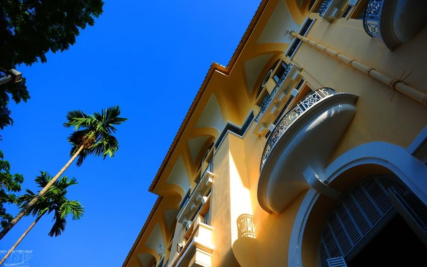 西贡的法式建筑烙印