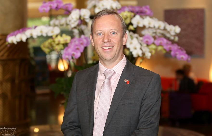 体验越南的英国大使