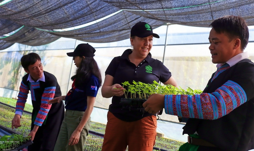 Australian project promotes sustainable livelihood for farmers