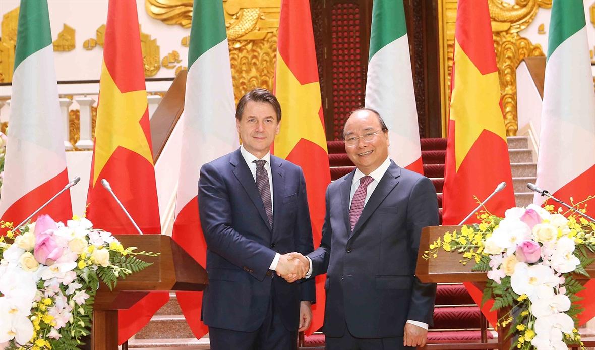 Thúc đẩy quan hệ Đối tác chiến lược Việt Nam-Italy