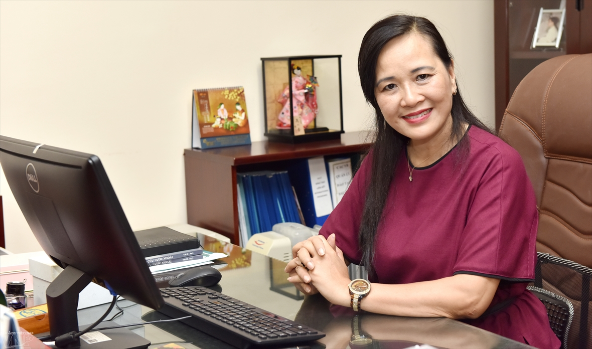 Associate Professor Dr. Ngo Minh Thuy promotes Japanese language education in Vietnam