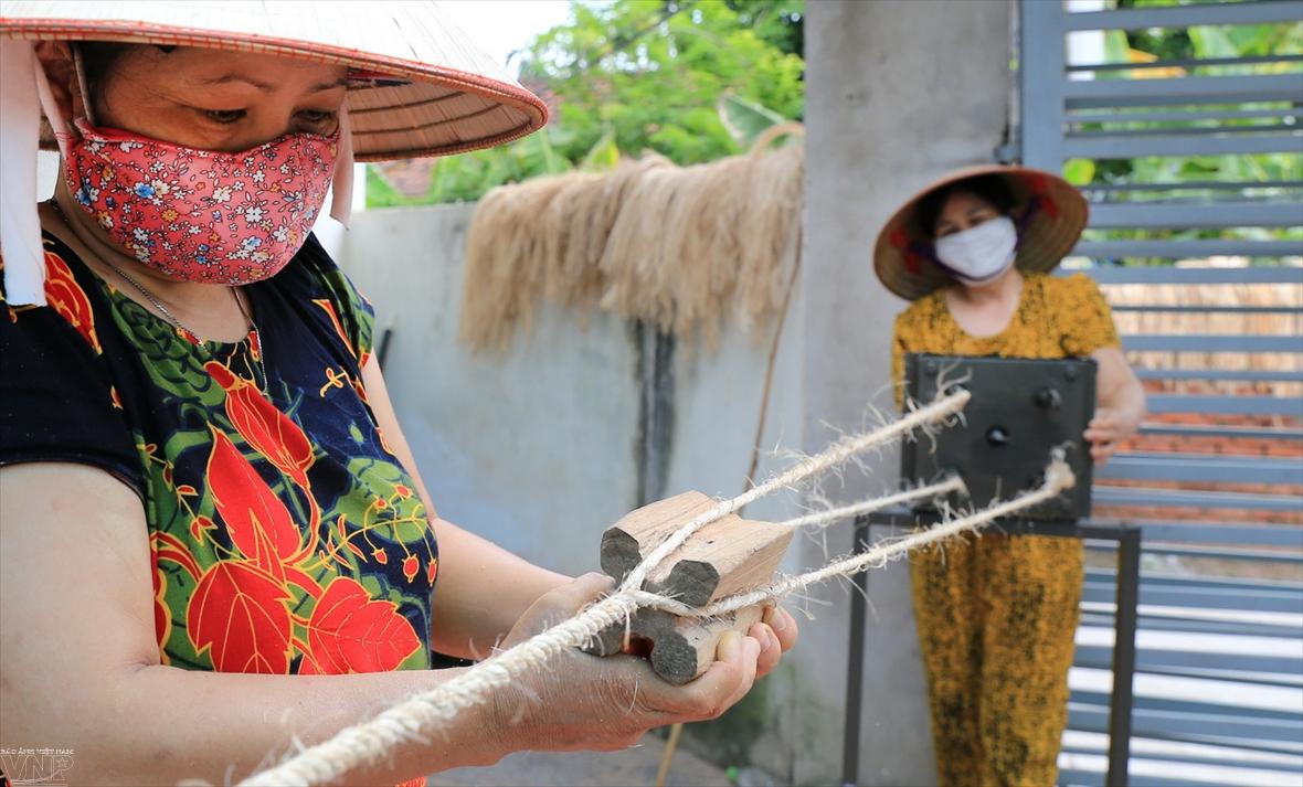 Vitalidad de las fibras de banano vietnamitas