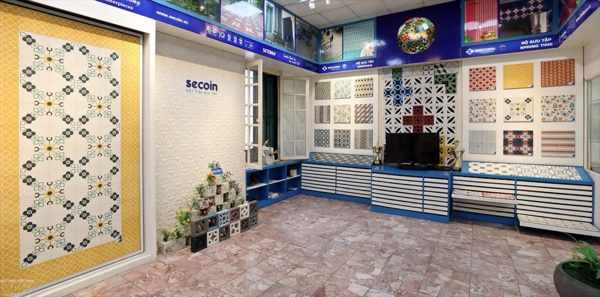 Secoin - Thương hiệu bảo tồn gạch bông truyền thống