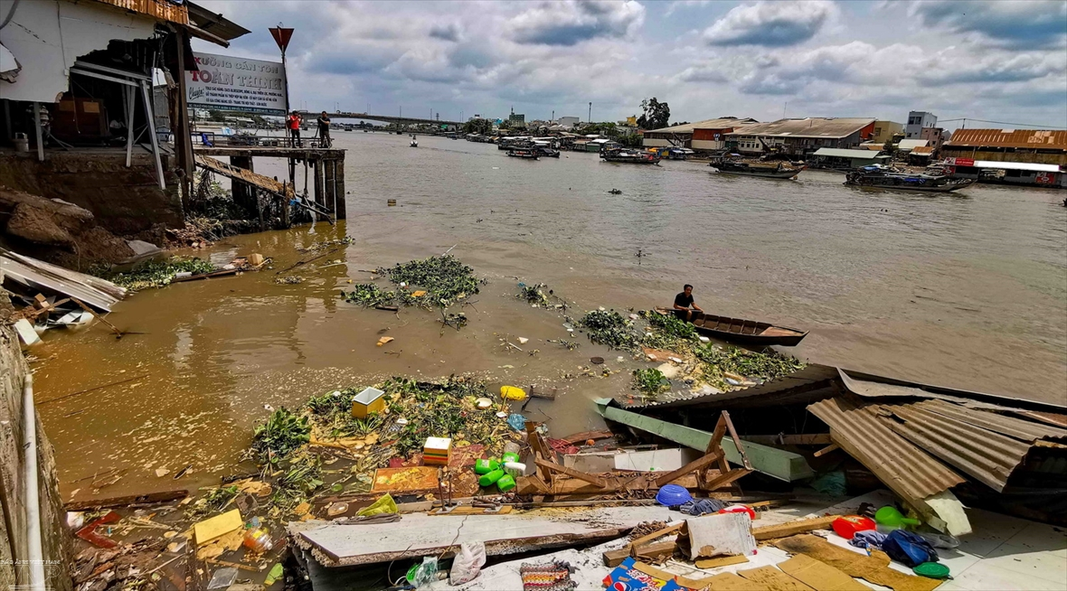 Actions to eliminate plastic pollution in the Mekong river