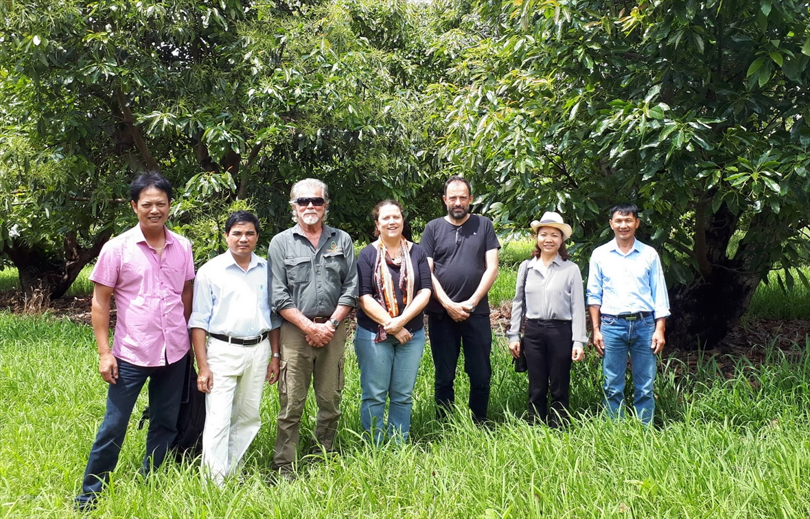 Les arbres fruitiers des zones tempérées lavantage compétitif de Son La
