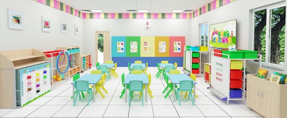 Tân Hà và những tư duy mới về thiết bị giáo dục