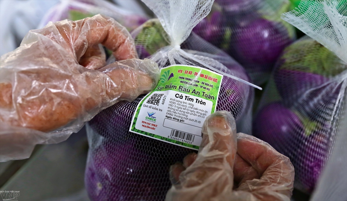 Hanoi adopts traceability of farm products
