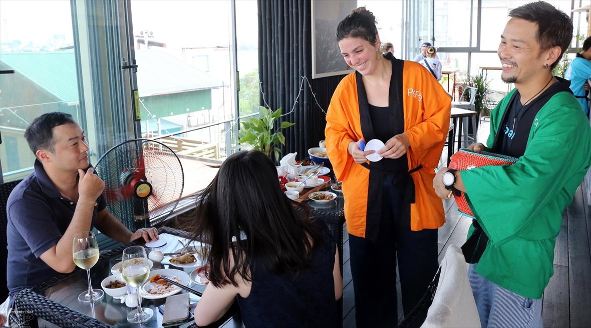 Pépé la Poule un restaurant  à vocation sociale au cœur de Hanoi