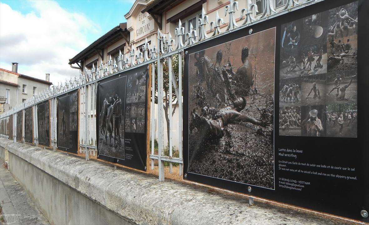 프랑스의 사진 거리에 남은 베트남의 흔적