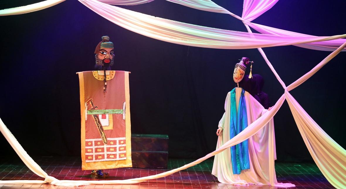 La historia de Kieu a través de marionetas