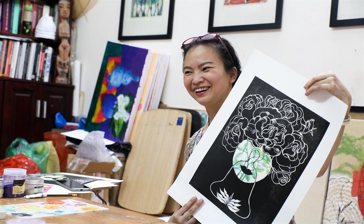 PGS.TS Trang Thanh Hiền - Người đưa mỹ thuật cổ đến với công chúng
