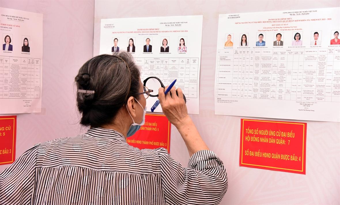 Выборы депутатов Национального Собрания и депутатов Народных Советов всех уровней - большой Всенародный праздник
