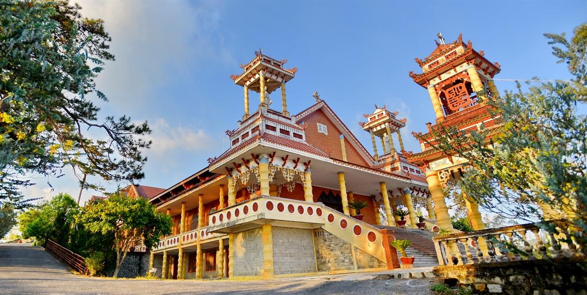 The peculiar Du Sinh Church
