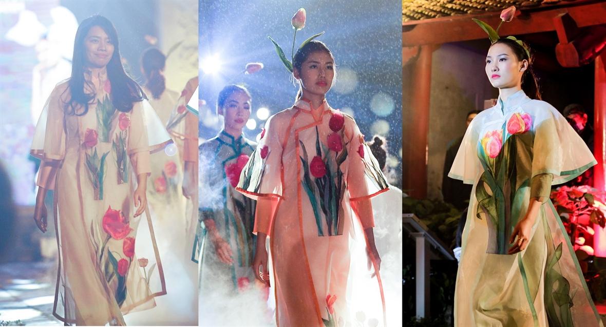 Nhà thiết kế Phương Thanh với tình yêu lụa Việt