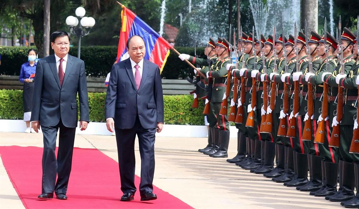 Chuyến thăm Lào của Chủ tịch nước đạt kết quả toàn diện thực chất