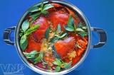Суп с крабами приготовленный по рецепту жителей провинции Камау