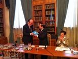Встреча писателей Вьетнама и России в Москве