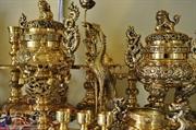 安会铜香炉