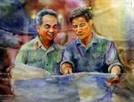 Renombrados generales de Vietnam a través de obras artísticas