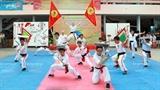 Дружеская встреча школ вьетнамских традиционных боевых искусств в городе Хошимин