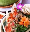 잭푸릇(mít)샐러드를 즐기는 중부지방