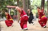 Палка – своеобразное холодное оружие в традиционном вьетнамском боевом искусстве