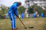 ベトナムにウッドボールを広める運動