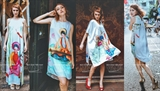 Motifs décoratifs traditionnels vietnamiens sur les vêtements de Lucys Dream