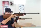 Les Saigonais et leur hobby pour le  tir sportif