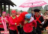 따반(Tả Van)지역 쟈이(Giáy)민족의 결혼식