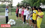 Amateur Coach Nurtures Potential Female Footballers