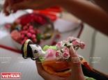 ベトナム風の紙人形