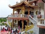 A Vietnamese Pagoda in India