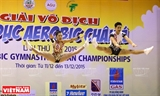 Vietnam Wins 10 Gold Medals in the Aerobic Gymnastics Asian Championships