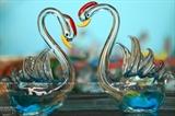Забавные фигурки животных из стекла
