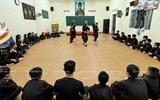 Une classe dart martiaux élit domicile dans une pagode